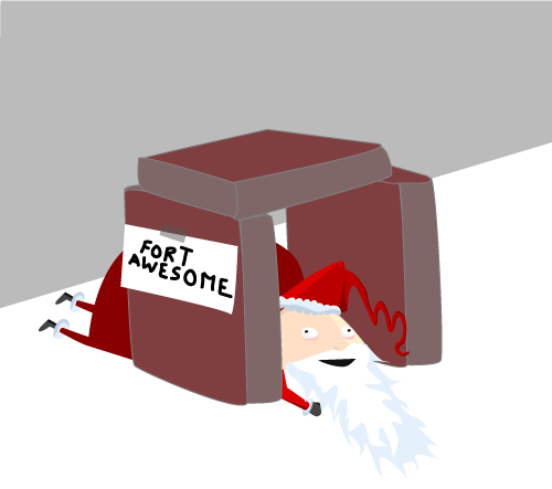 seven - what santa really does when you're sleeping