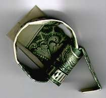 seventh - how to make a dollar into a ring !