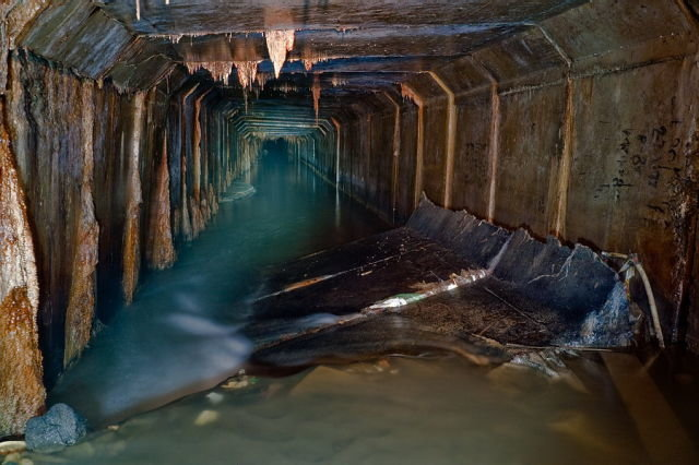 sewerage seen from
