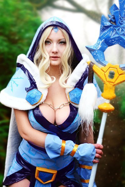 sexy crystal maiden