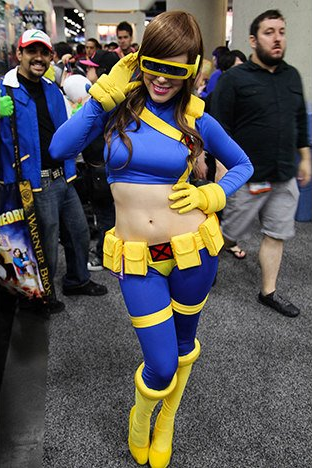 sexy lady cyclops cosplay
