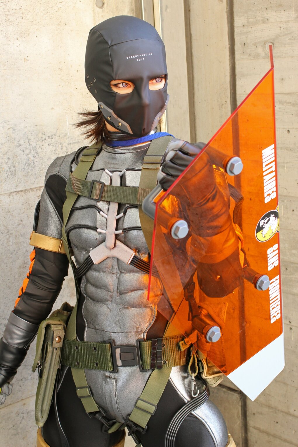 sexy metal gear cosplay