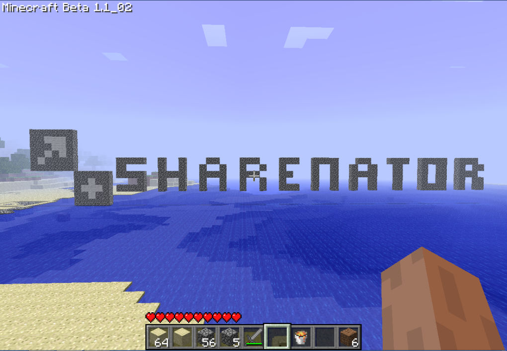 sharenatore minecraft love