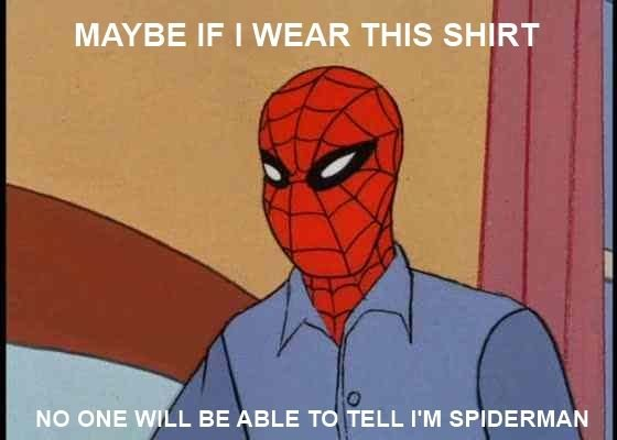 shirt - spider-man meme