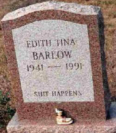 shithappens - funny tombstones