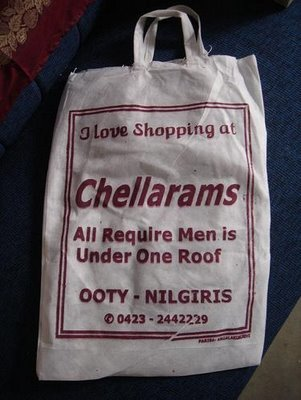 shopping bag funny