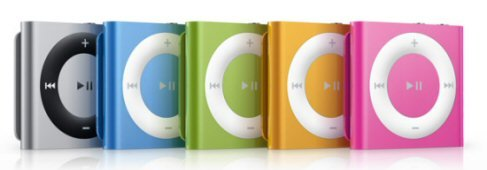 shufflebanner1 - new apple ipod range