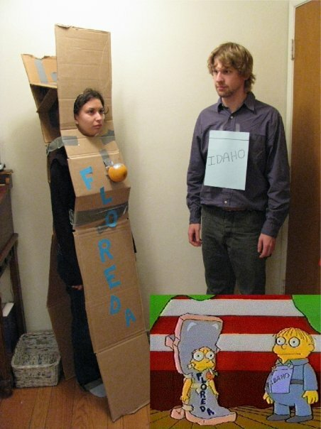 simpsons cosplay