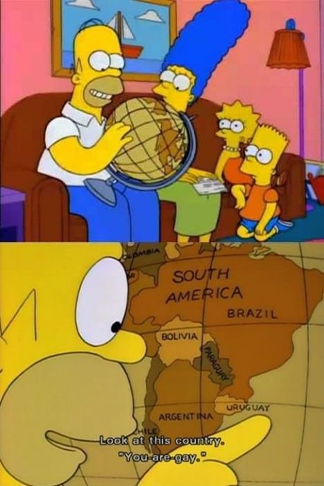 simpsons gay country