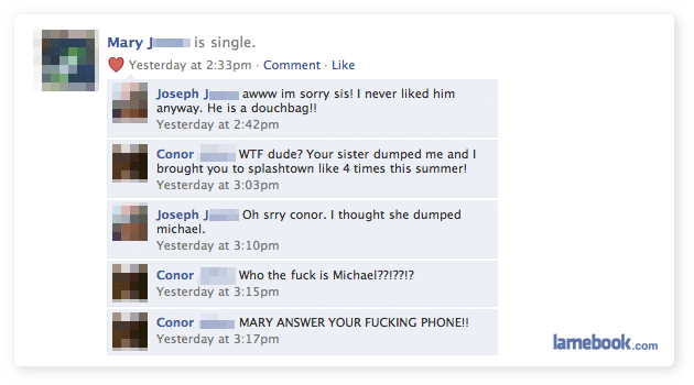 sistersister2 - facebook fails and wins :)