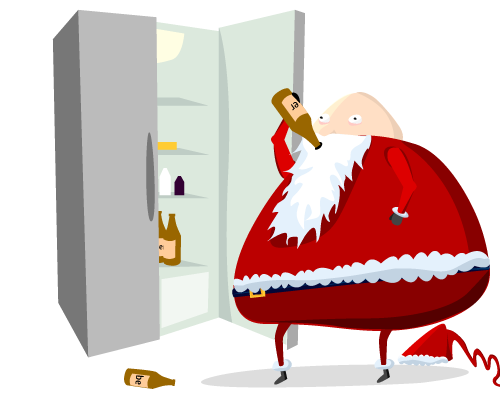 six - what santa really does when you're sleeping