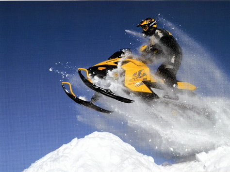 skidoo - canada vs usa ( in what we drive for fun in our freetime)