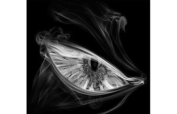 smoke art eye