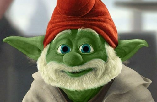 smurf star wars yoda