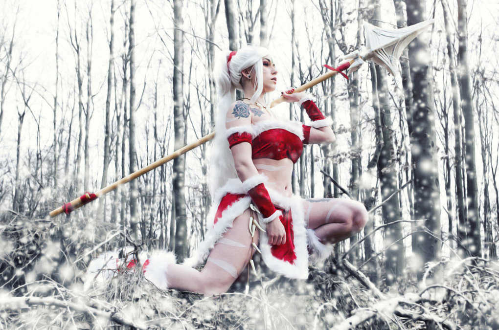 snow bunny nidale cosplay