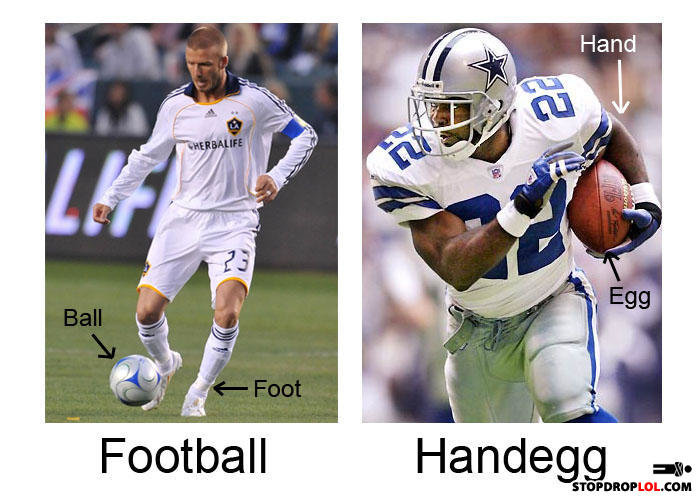 soccerfootball - football handegg