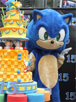 sonic - epic video game cakes!!!!!!