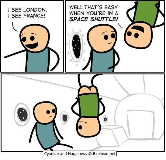 spaceshuttle - cyanide & happiness pt 2