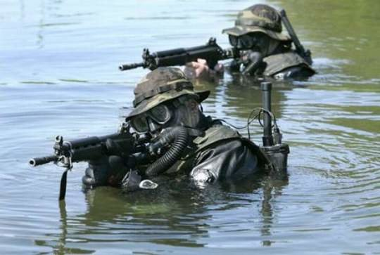 special forces from different