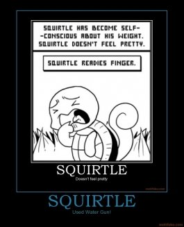 squirtle pokemon squirtle super effective demotivational poster