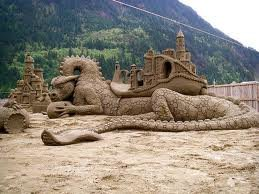 ss5 - yay summer!  sand sculptures...