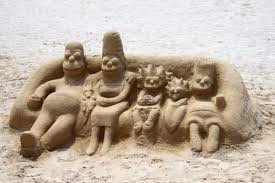 ss6 - yay summer!  sand sculptures...