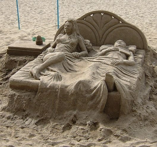 ss7 - yay summer!  sand sculptures...