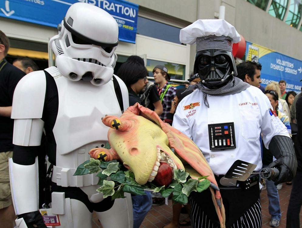 star wars cosplay level chef