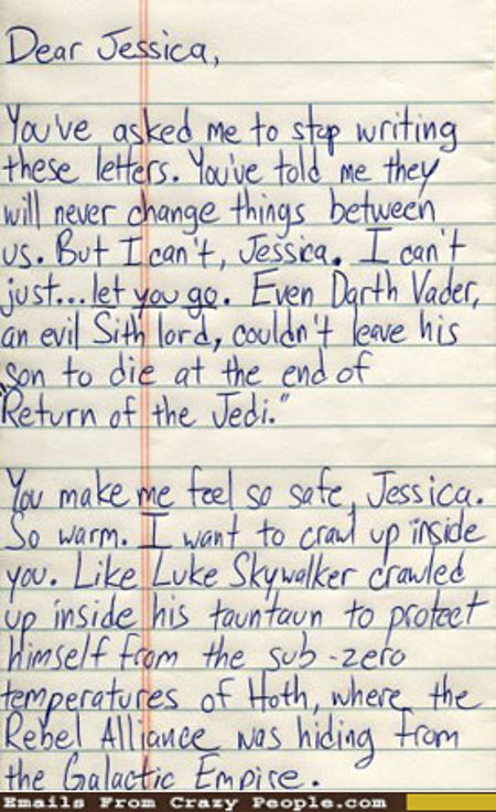 star wars love letter