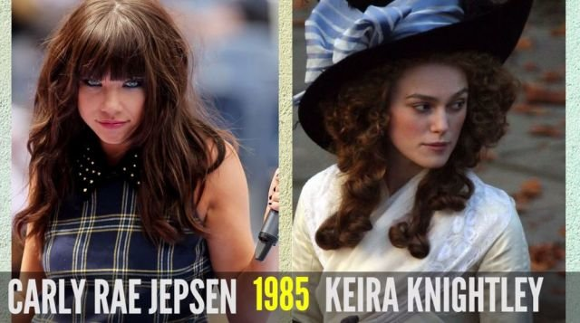stars who are all same age