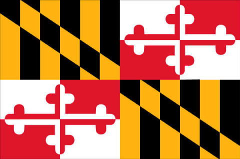 state flag maryland