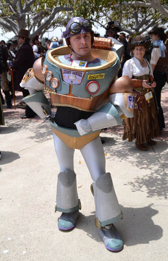 steampunk buzz lightyear cosplay