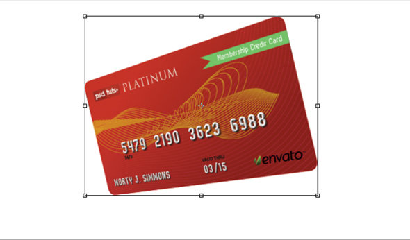 step7 - how to create a realistic credit card in photoshop