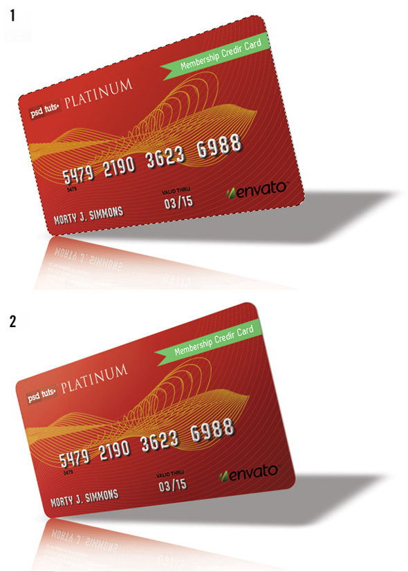 step9 - how to create a realistic credit card in photoshop