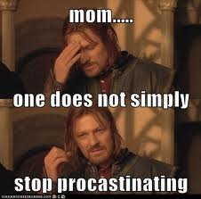 stop - one does not simply....