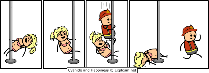 stripperfireman - cyanide and happiness deluxe