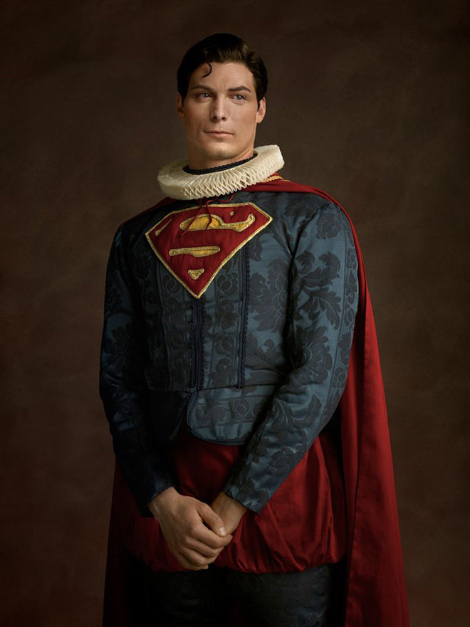 superman - modern superheroes go back to the 16th century
