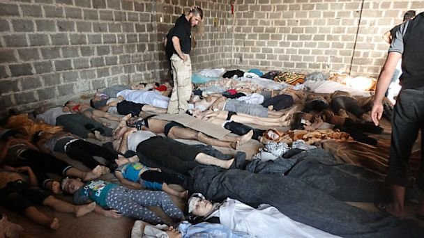 syria chemical weapon bodies