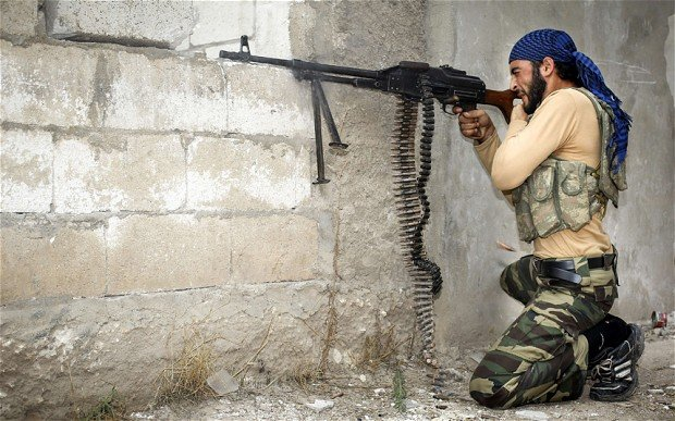 syria rebel weapon