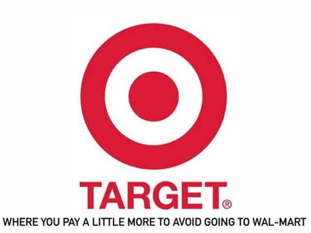 target - if company logos would tell us truth