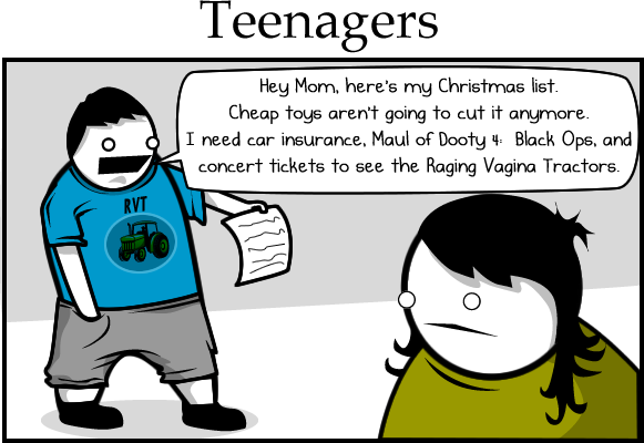 teenagers - how do you celebrate the holidays?