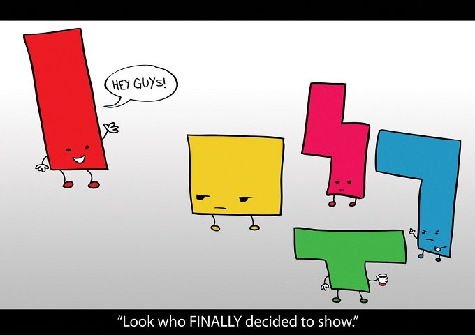 tetris - my selection from the top 50 viral images the web shared in 2010