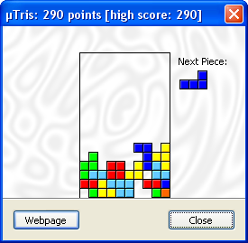 tetris - utorrent secret game