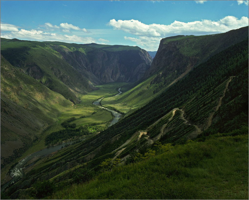 altay mountains russia