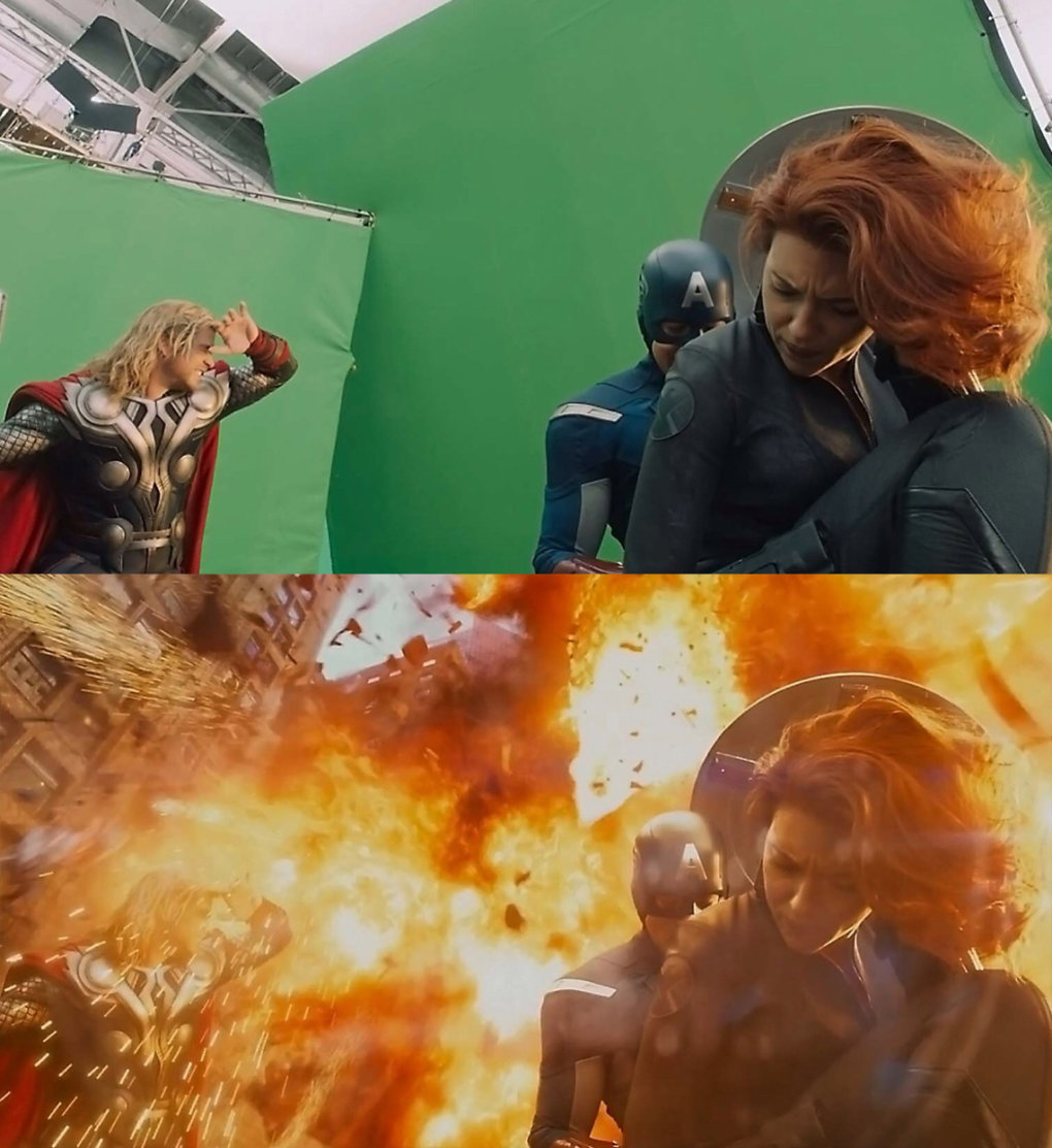 the avengers - would you watch these movies without any special effects?