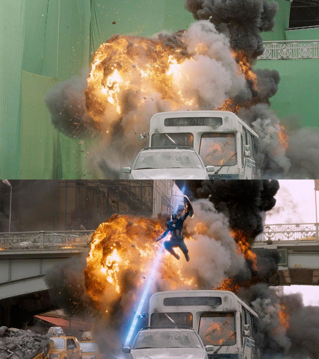 the avengers1 - would you watch these movies without any special effects?