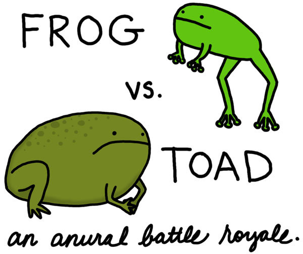 frog will win because frog