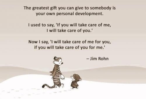 greatest gift can give jim rohn