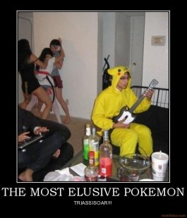 most elusive pokemon pokemon demotivational poster