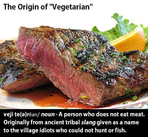 origin word vegetarian